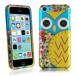Insten For iPhone 5c Rubberized Design Case - Owl 2