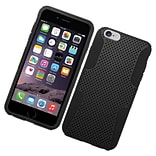 Insten Astronoot Hard Hybrid TPU Case For Apple iPhone 6s Plus / 6 Plus - Black