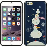 Insten TPU Imd Christmas Skin Rubber Gel Case For Apple iPhone 6s Plus / 6 Plus - Snowman