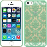 Insten Lace Hard Rubberized Case For Apple iPhone 5/5S - Teal