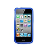 Insten Rubber Cover Case For Apple iPhone 4/4S - Blue