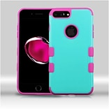 Insten Hard TPU Cover Case For Apple iPhone 7 Plus - Teal/Pink