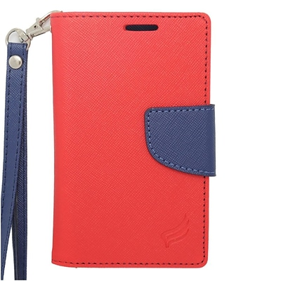 Insten Leather Case For iPhone 5/5C/5S LG Microsoft Motorola Samsung Galaxy Ace Style/S3 Mini ZTE - Red