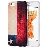 Insten Patriotic Vintage Flag Series Imd TPU Rubber Skin Gel Case For Apple iPhone 6 / 6s - Chile