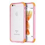 Insten TPU Cover Case For Apple iPhone 6s Plus / 6 Plus - Clear/Pink