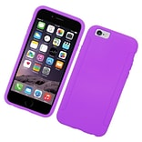 Insten Silicone Rubber Cover Case For Apple iPhone 6 / 6s - Purple