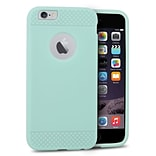 Insten Rubber Gel Skin Cover Case For Apple iPhone 6 / 6s - Mint Green