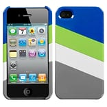 Insten MyColor Splash Case (003) (with Package) For iPhone 4/4S