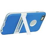Insten Hard TPU Cover Case w/stand For Apple iPhone 6 / 6s - Blue/White