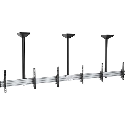 Mount-It! Tilt Ceiling Triple TV Mount for 3 LCD displays: Screen Size: 45 to 50 (MI-513B)