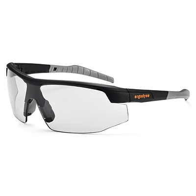 Skullerz® Skoll Safety Glasses, In/Outdoor Lens, Black (59080)