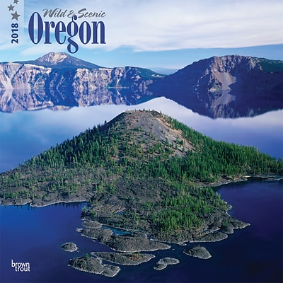 Oregon, Wild & Scenic 2018 12 x 12 Inch Monthly Square Wall Calendar