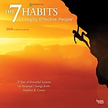 7 Habits of Highly Effective People, The 2018 12 x 12 Inch Monthly Square Wall Calendar