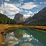 Wyoming, Wild & Scenic 2018 12 x 12 Inch Monthly Square Wall Calendar