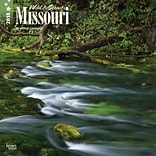 Missouri, Wild & Scenic 2018 12 x 12 Inch Monthly Square Wall Calendar