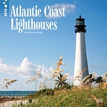 Lighthouses, Atlantic Coast 2018 12 x 12 Inch Monthly Square Wall Calendar