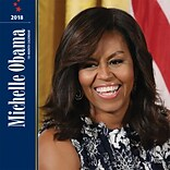 First Lady Michelle Obama 2018 12 x 12 Inch Monthly Square Wall Calendar