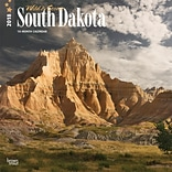 South Dakota, Wild & Scenic 2018 12 x 12 Inch Monthly Square Wall Calendar