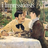 Impressionists 2018 12 x 12 Inch Monthly Square Wall Calendar