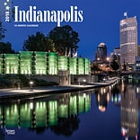 Indianapolis 2018 12 x 12 Inch Monthly Square Wall Calendar