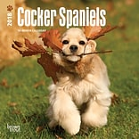 Cocker Spaniels 2018 Mini 7 x 7 Inch Wall Calendar