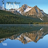 Idaho, Wild & Scenic 2018 7 x 7 Inch Monthly Mini Wall Calendar