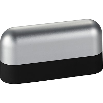 Natico Black and Silver ABS and Silicone Power Bank 2200 mAh (60-7101-BK)
