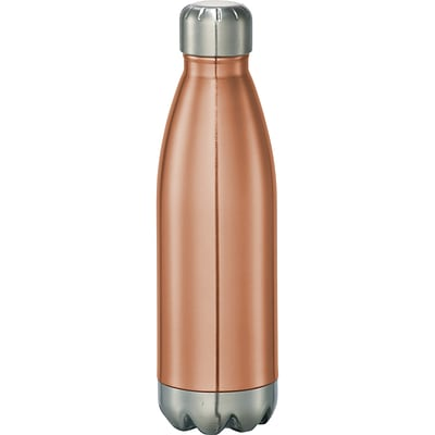 Natico Copper Color Stainless Steel Water Bottle, 17 oz. (60-6475-CO)