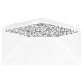 LUXPaper Moistenable Glue Closure, Security Tinted, #9 Business Envelopes, 3 7/8 x 8 7/8, White, 5