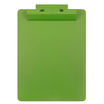 JAM Paper® Aluminum Premium Clipboards, Green Clipboard w/ Hinge, Sold Individually (340933563)