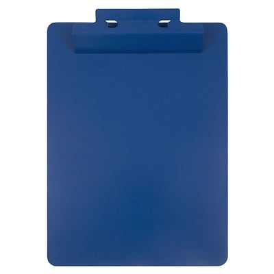 JAM Paper® Aluminum Premium Clipboards, Blue Clipboard w/ Hinge, Sold Individually (340933561)