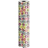JAM Paper® Industrial Size Wrapping Paper Rolls, Cake & Candles, 1/2 Ream (834 Sq. Ft), Sold Individ