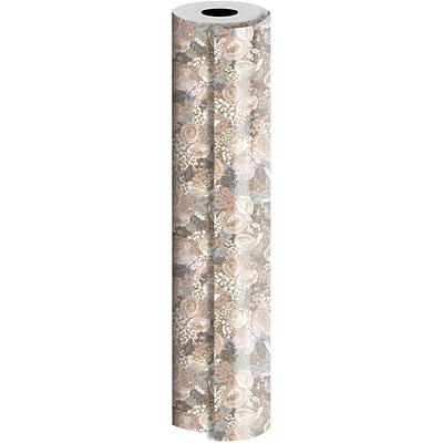 JAM Paper® Industrial Size Wrapping Paper Rolls, Bouquet, Full Ream (1666 Sq. Ft), Sold Individually (165J22324833)