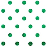 JAM Paper® Design Gift Tissue, Green Polka Dots, 20 x 30, 200 Sheets (526BHD131)