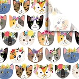 JAM Paper® Printed Gift Tissue, Kitty Cats, 20 x 30, 240 Sheets (115BPT1291)