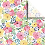JAM Paper® Printed Gift Tissue, Watercolor Petal, 20 x 30, 240 Sheets (115BPT1451)