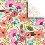 JAM Paper® Printed Gift Tissue, Gypsy Floral, 20 x 30, 240 Sheets (115BPT2091)