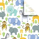 JAM Paper® Printed Gift Tissue, Zoo, 20 x 30, 240 Sheets (115BPT2681)