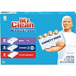 Mr. Clean Magic Eraser Variety Pack White Scouring Pads, 6/Pack (69523)