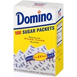 Domino Sugar Packets, 100/Box (DMN90554)