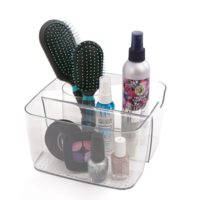 Mind Reader Acrylic 5 Compartment Cosmetic Organizer, Clear (MAKEUP5-CLR)