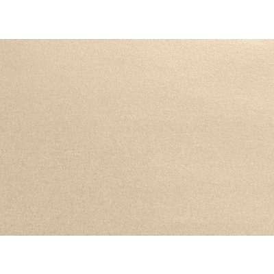 LUX A1 Flat Card (3 1/2 x 4 7/8) 250/Pack, Taupe Metallic (4010-M09-250)