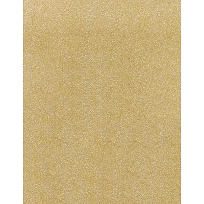 LUX 8 1/2 x 11 Cardstock 250/Pack, Gold Sparkle (81211-C-MS02250)