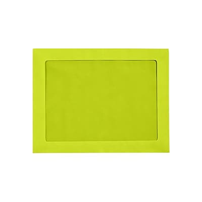 LUX 9 x 12 Full Face Window Envelopes 500/Pack, Wasabi (FFW-912-L22-500)