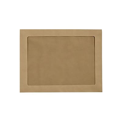 LUX 9 x 12 Full Face Window Envelopes 500/Pack, Grocery Bag (FFW-912-GB-500)