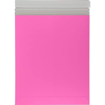 LUX 11 x 13 1/2 Colored Paperboard Mailers 250/Pack, Bright Fuchsia (1113PBM-BF-250)