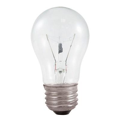Bulbrite Incandescent (INC) A15 40W Dimmable Appliance Clear 2700K Warm White Light Bulb, 20 Pack (104140)