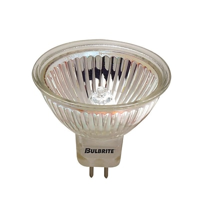 Bulbrite Halogen MR16 35W Dimmable 2900K Soft White 12D Light Bulb, 5 Pack (641135)