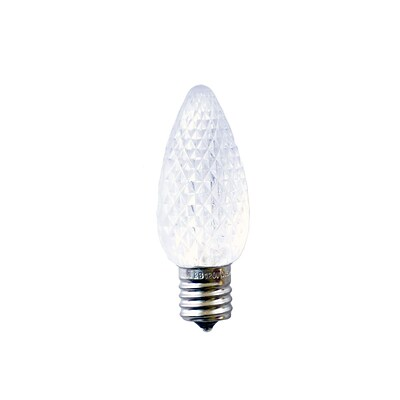 Bulbrite LED C9 0.6W Clear 2700K Warm White Light Bulb, 25 Pack (770191)