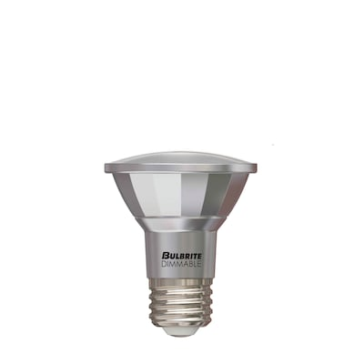 Bulbrite LED PAR20 7W Dimmable Outdoor Rated 3000K Soft White 40D Light Bulb, 3/Pack (772715)